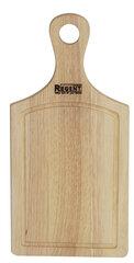 Доска деревянная разделочная с ручкой 38x18 см REGENT inox 93-BO-2-01