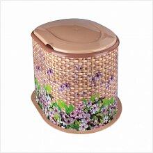 Унитаз дачный пластиковый для выгребной ямы Плетенка М3025