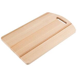 Доска кухонная разделочная деревянная 22х35 см береза