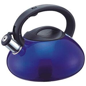 Mallony MAL-102 Чайник для плиты 3 литра синий со свистком