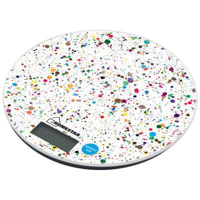 Весы кухонные круглые до 7 кг HOMESTAR HS-3007S электронные