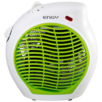 Обогреватель вентилятор электрический 2 кВт Engy EN-517 зелёный спиральный тэн