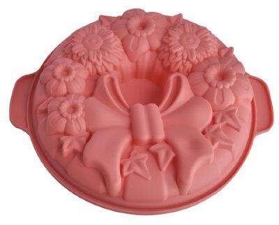 Силиконовая форма для выпечки кекса «Праздничная» Regent 93-SI-FO-104, 31x27x4 см