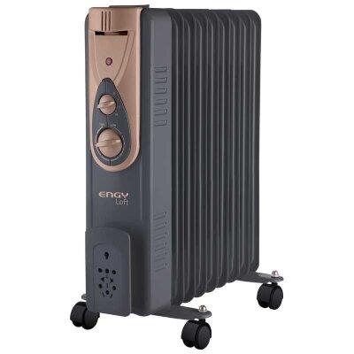 Обогреватель масляный ENGY EN-2409 Loft 9 секций 2000 Вт регулируемый термостат