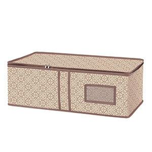 Ящик для хранения вещей Рыжий КОТ 60х30х20 см из текстиля