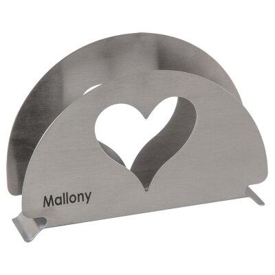 Салфетница Mallony CUORE для бумажных салфеток на стол