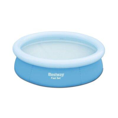 Bestway 57252 Бассейн круглый с надувным бортом 198х51 см, 1126 л