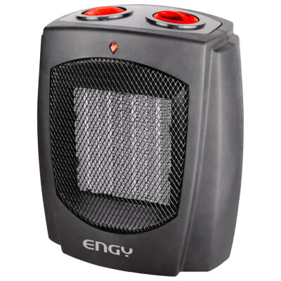 Керамический тепловентилятор 1500 Вт Engy KRP-6 настольный Черный