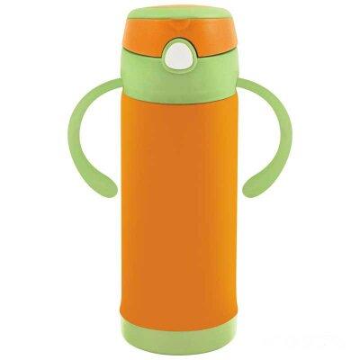 Термос для чая 0.3 л CARINO-H Mallony оранжевый, с 2 ручками