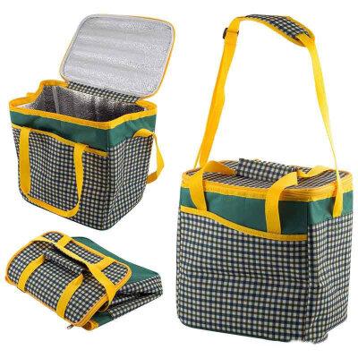 Складная сумка холодильник для продуктов 14 л Cells CB-40 27х19х28 см