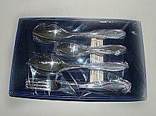 Набор столовых приборов Волна М-9 СН-83/2ХР 18 предметов художественная роспись ручки