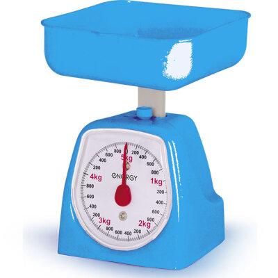Весы настольные с чашей механические до 5 кг Energy EN-406МК-BL Синие