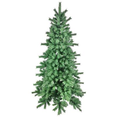Елка искусственная для дома 180 см, 800 веток, зеленая