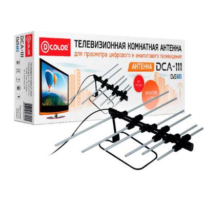 D-COLOR DCA-111 Антенна комнатная пассивная для приема TV сигналов в ДМВ диапазоне волн