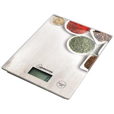 Весы бытовые кухонные электронные до 7 кг HOMESTAR HS-3008 СПЕЦИИ для продуктов