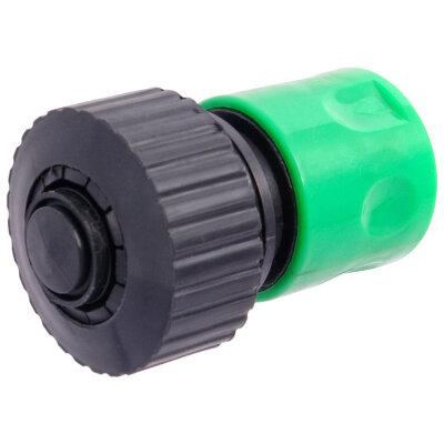"""PARK HL030 Соединитель для шланга на 3/4"""" с аквастопом с устройством полива"""