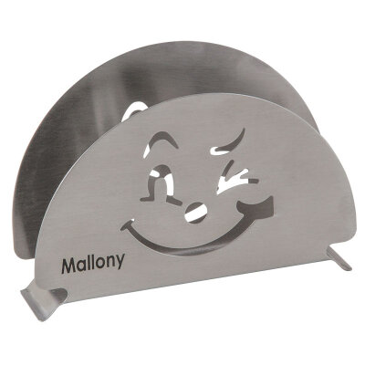 Mallony GATTO Салфетница для бумажных салфеток стальная