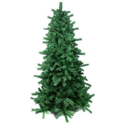Елка искусственная для дома 210 см, 1200 веток, зеленая