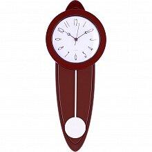Часы с маятником настенные 21х54 см MAX-9798A1 кварцевые
