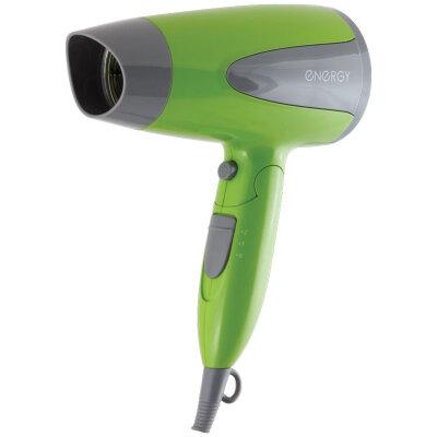 ENERGY EN-836 Фен для волос со складной ручкой и 2 режимами мощности 1200, 1600 Вт