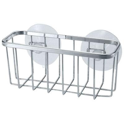 Полка для ванных принадлежностей настенная на присосках 14х5х6 см COZY-B-1