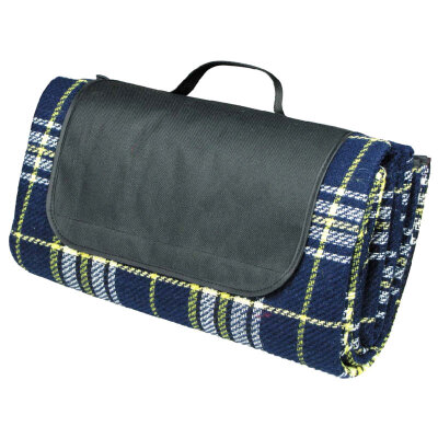 Коврик для пикника тканевый непромокаемый ECOS PR-02T/L размер 175х135 см, с влагостойкой основой