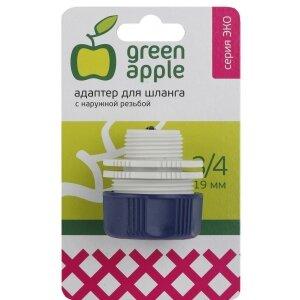 Green Apple GAEA20-12 Соединитель для поливочного шланга 3/4 дюйма и крана с внутренней резьбой на 3/4