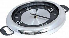 Часы круглые настенные кухонные 30.2x37.5 см MAX-9837 Ланч