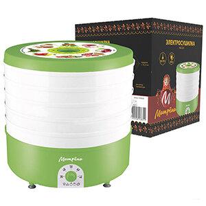 Сушилка электрическая на 5 поддонов МАТРЁНА МА-019 для овощей и фруктов мощностью 520 Вт
