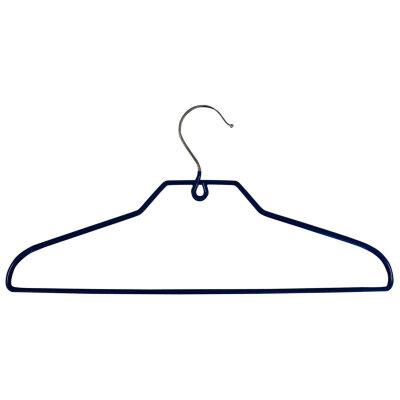 Вешалка плечики для одежды металлическая обрезиненная Рыжий КОТ M2 40 см