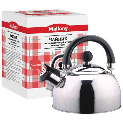 Mallony DJA-3023 Чайник для плиты со свистком 3 л капсульное дно