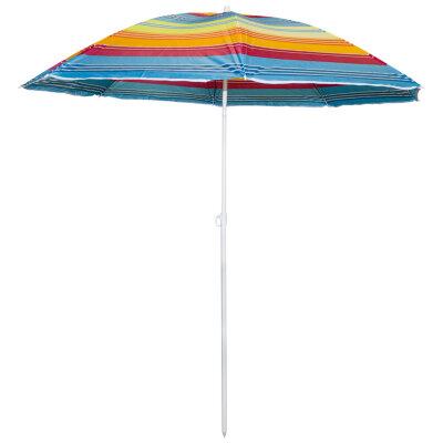 Зонт пляжный c наклоном складной ECOS SDBU001A штанга 1.8 м, диаметр 1.8 м
