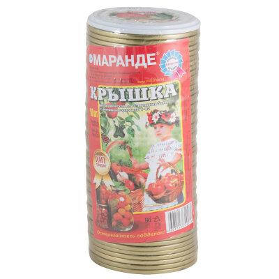 """Крышка для консервации СКО-82 """"Маранде""""металлическая , набор 50 шт"""