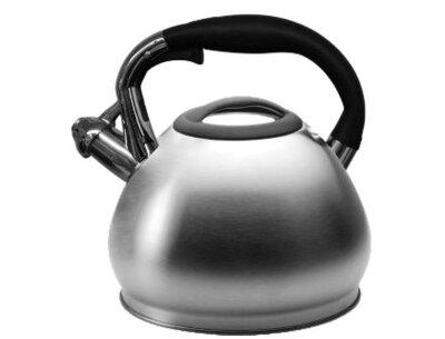 Чайник со свистком 4.5 литра HOFFMANN HM-5557 стальной
