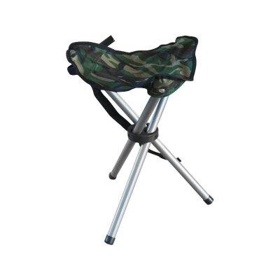 Стул складной 3 ноги для рыбалки PARK DW-1001С камуфляжный до 80 кг