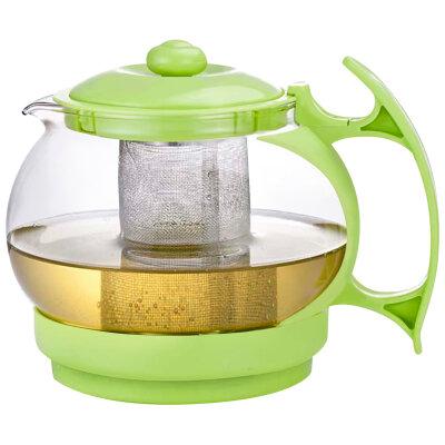 Чайник заварочный 1.1 л Decotto-1100 нержавеющий фильтр