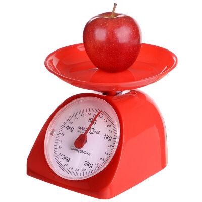 Весы настольные с чашей механические до 5 кг MAXTRONIC MAX-1802 для кухни цена деления 40 грамм