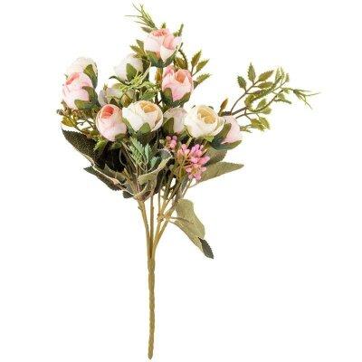 Искусственные цветы для декора Розы 32 см