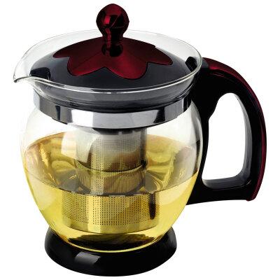 Mallony Decotto-1200 Чайник для заварки чая 1.2 л стеклянный с ситечком