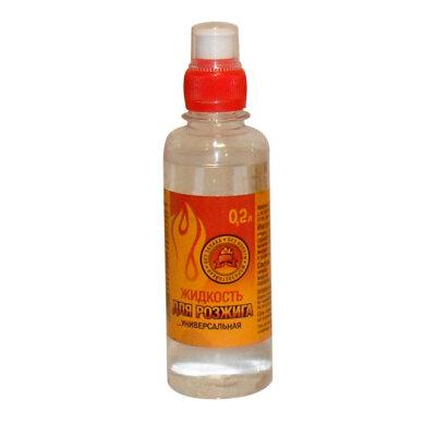 Жидкость для розжига парафин 0.2 л