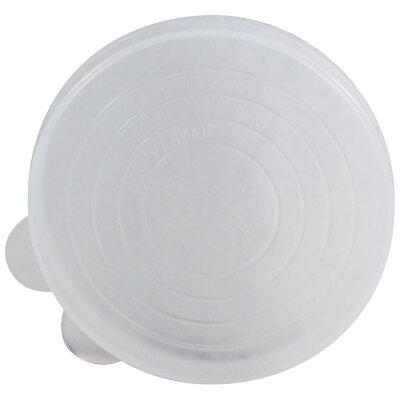 Крышка полиэтиленовая для закрывания банок, в упаковке 10 шт