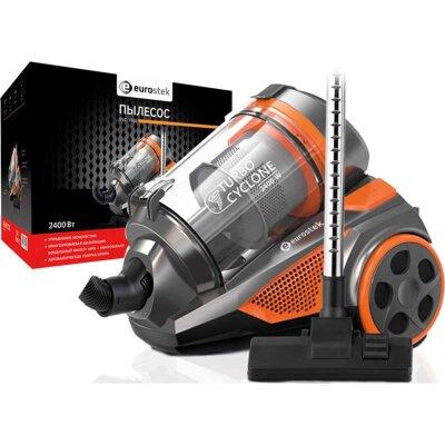 Eurostek EVC-3010 Пылесос без мешка для сбора пыли 2400 Вт c Нера фильтром и микрофильтр