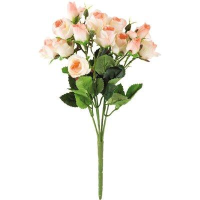 Букет из искусственных Роз для интерьера 33 см