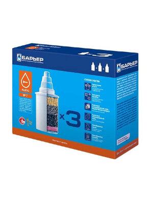 Кассета Барьер 7 (х3) картридж Железо в упаковке 3 шт, ресурс 350 литров