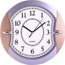 Часы круглые настенные 28 см MAX-303 Новолуние кварцевые пластиковые