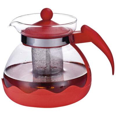 Чайник для заварки чая 1.5 л Mallony Decotto-1500 с ситечком и стеклянной колбой