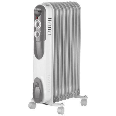 Обогреватель масляный электрический 2 кВт 9 секций ENGY EN-2009 narrow регулируемый термостат