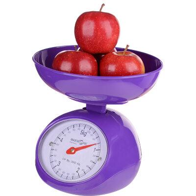 Весы настольные механические с чашей до 5 кг MAXTRONIC MAX-1803 цена деления 40 грамм