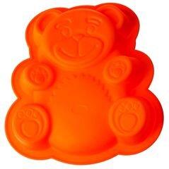 Форма силиконовая для выпечки кекса «Медвежонок» Regent 93-SI-FO-20 26x23.5x4 см