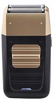 Бритва для бритья мужская электрическая MAXTRONIC MAX-SH04A-1 сетчатая с 2 ножами и триммером